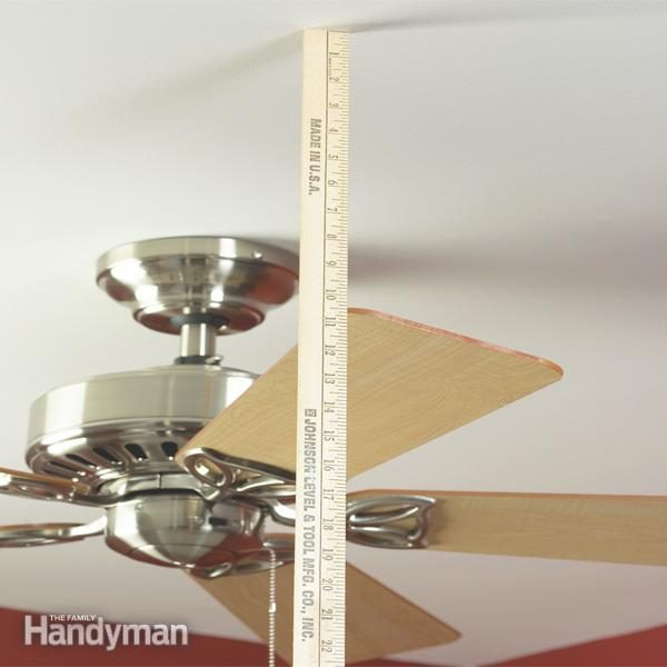 How to balance a ceiling fan family handyman stop the wobble and make your fan run smoothly in 15 minutes mozeypictures Image collections