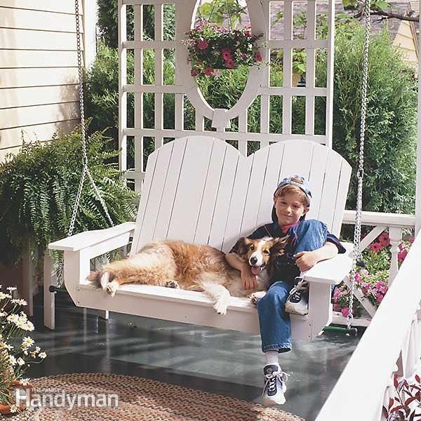 How To Build A Porch Swing Family Handyman