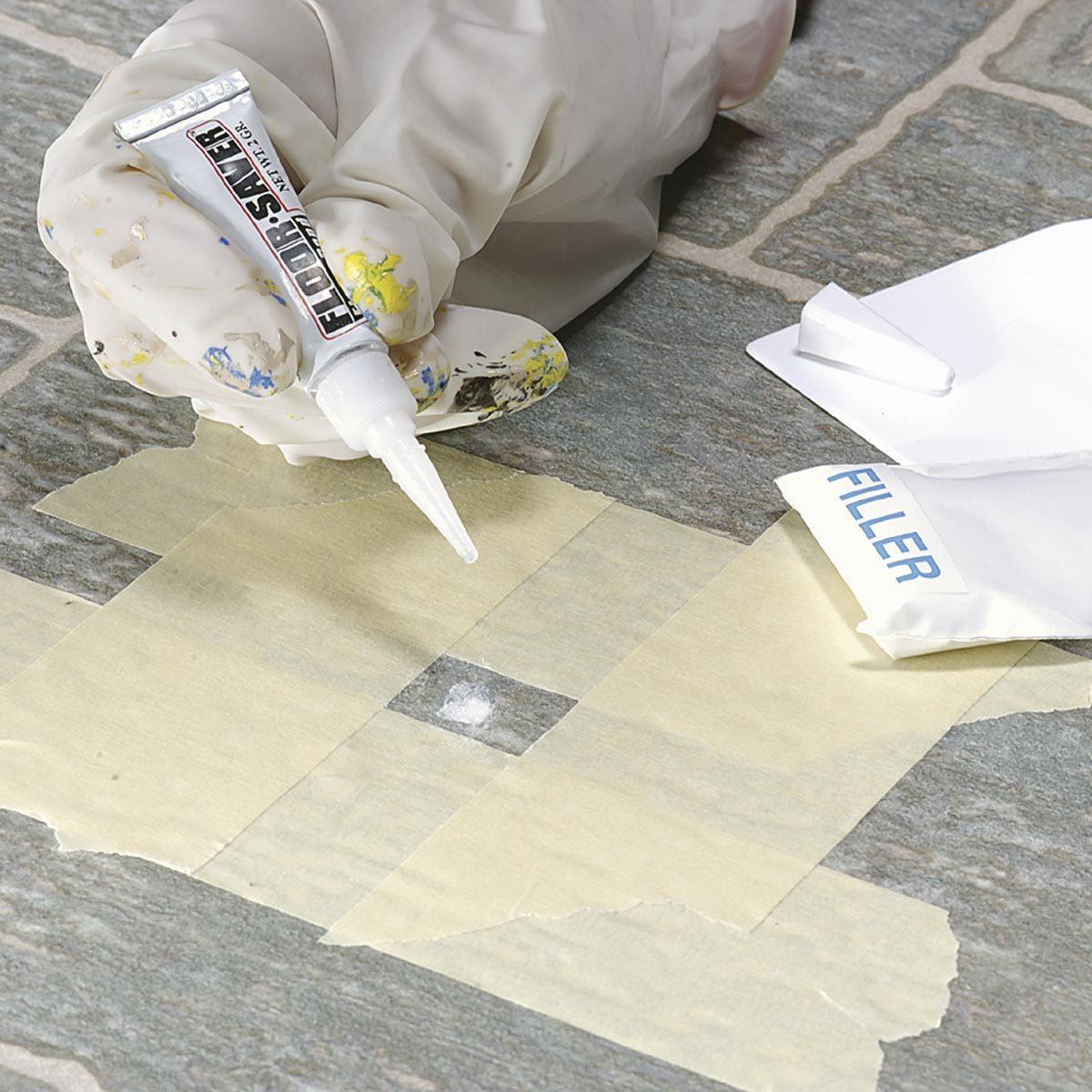 Repairing Vinyl Flooring | Family Handyman