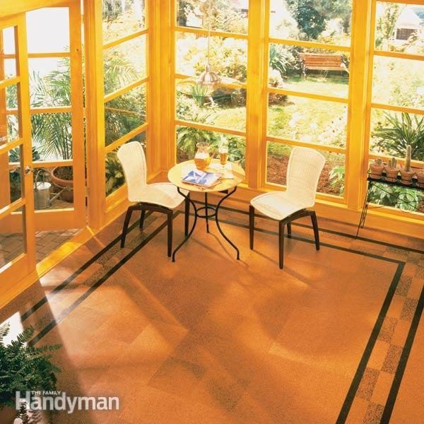 How To Install Cork Tile Flooring The Family Handyman - How much is cork flooring