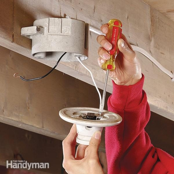 How to Replace a Pull-Chain Light Fixture