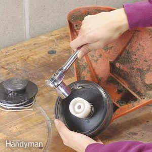 Install a Simpler Weed Trimmer Head