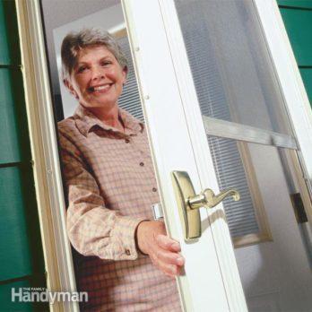 Replace Broken Storm or Screen Door Handles