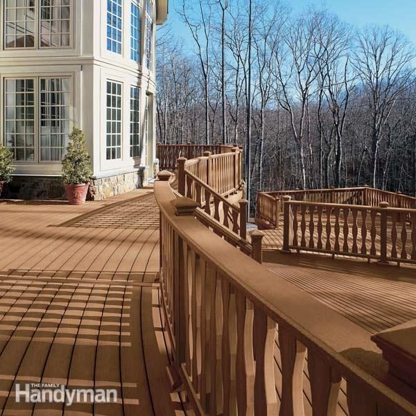low maintenance decks family handyman