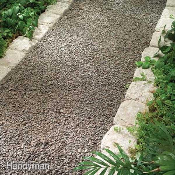 Planning A Backyard Path Gravel Paths Family Handyman