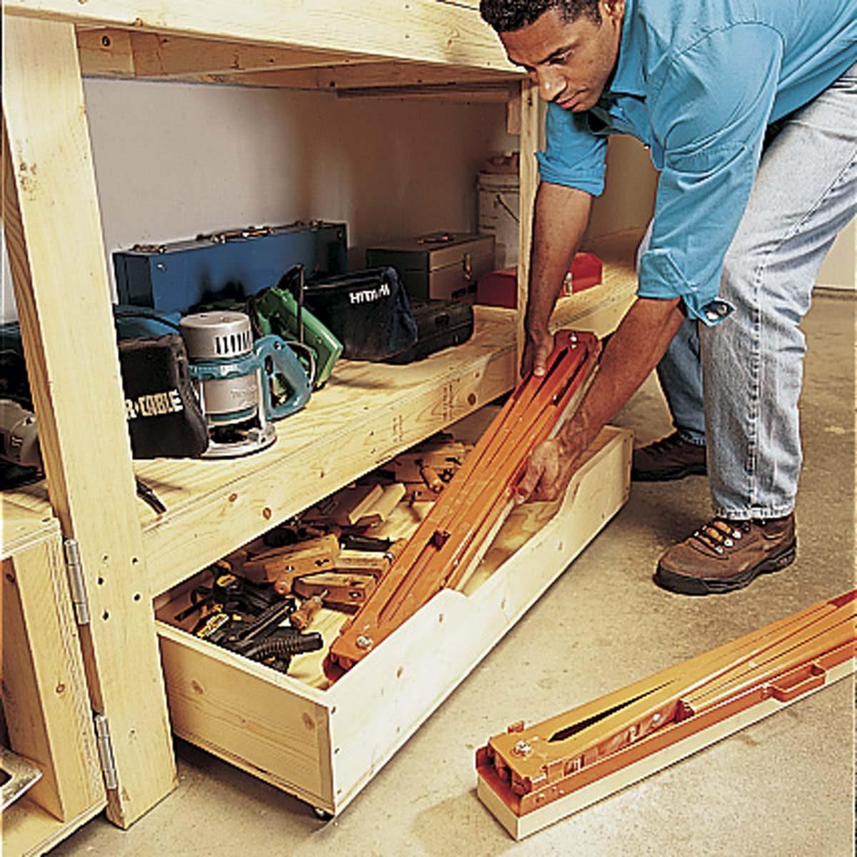 Modular Workbench Plans: How To Build A Modular Workbench