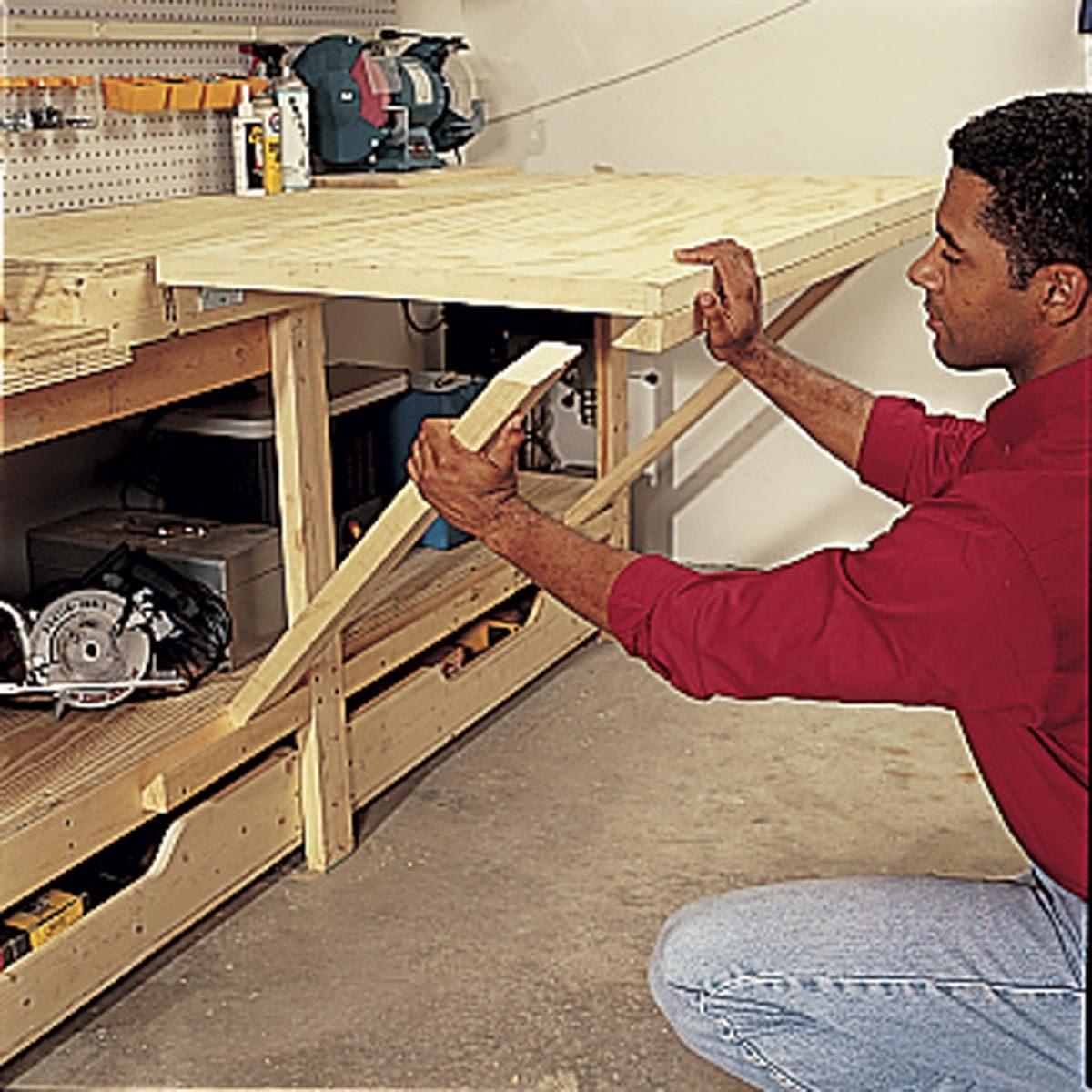 The Family Handyman: Modular Workbench Plans: How To Build A Modular Workbench