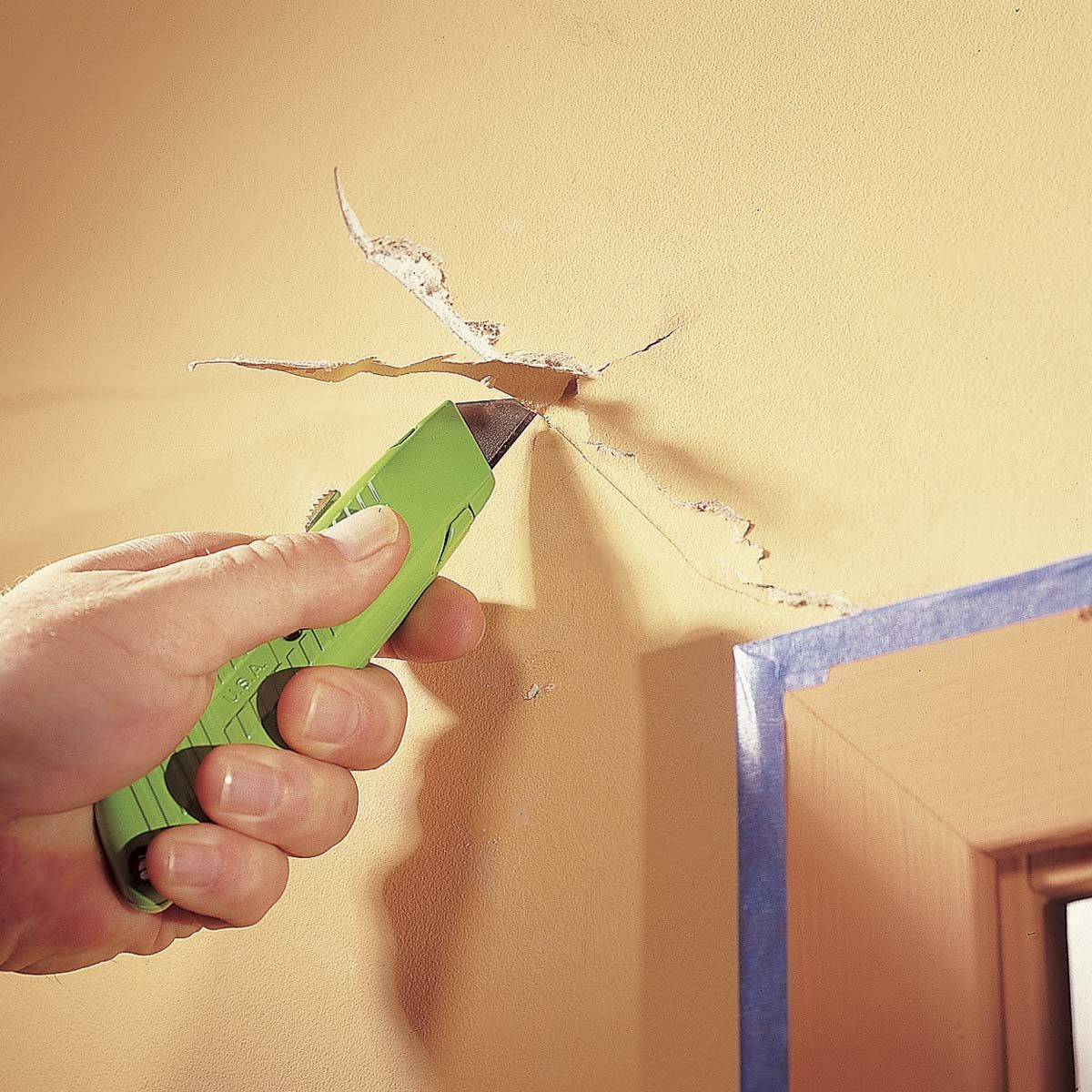 How To Repair A Drywall Family