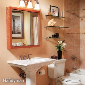 Three Bathroom Storage Ideas