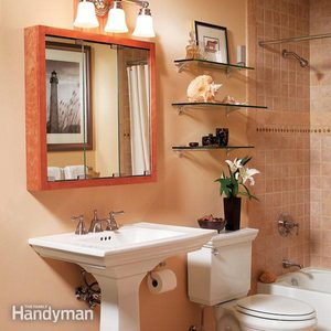 Three Bathroom Storage Ideas