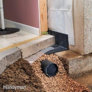 Drying a Wet Basement