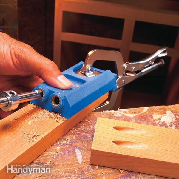 Learn how to use pocket screws