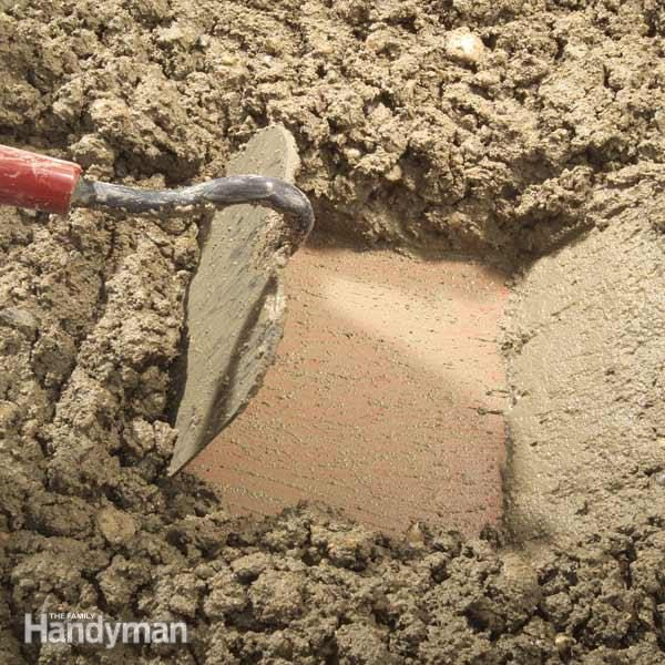 How To Properly Mix Concrete The Family Handyman