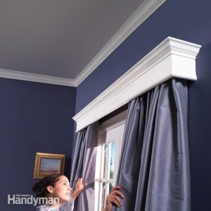 How to Build Window Cornices