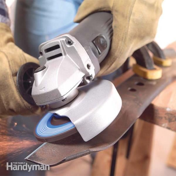 How To Use An Angle Grinder Family Handyman