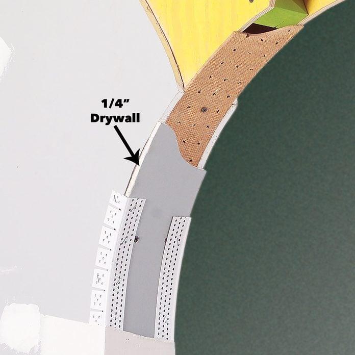drywall arch detail