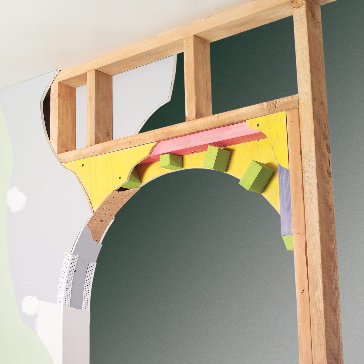 How To Prepare Wood Trim For A Smooth Wood Paint Job: How To Build A Drywall Arch