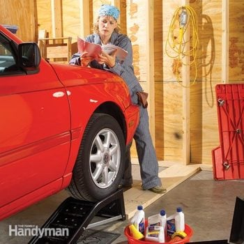 how to change car oil