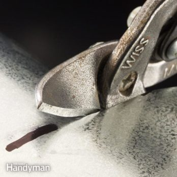 How to Use Tin Snips to Cut Sheet Metal