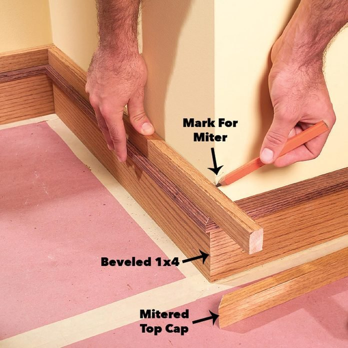complete baseboard installation