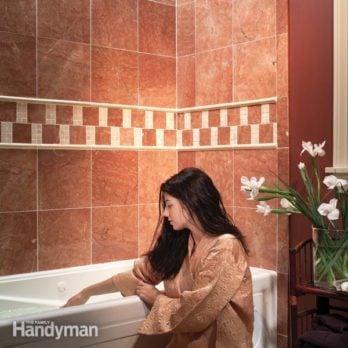 How To Caulk A Shower Or Bathtub The Family Handyman