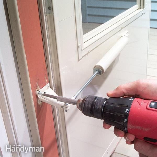 Create A Rock Solid, Crack Proof Door Frame For Your Storm Door Closer