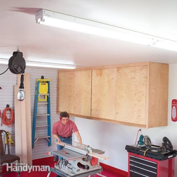 How to Achieve Better Garage Lighting | The Family Handyman