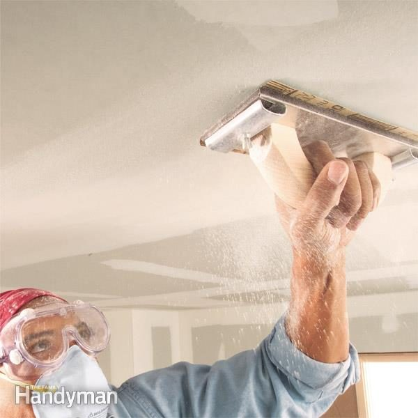 Drywall Sanding Tips And Techniques Family Handyman