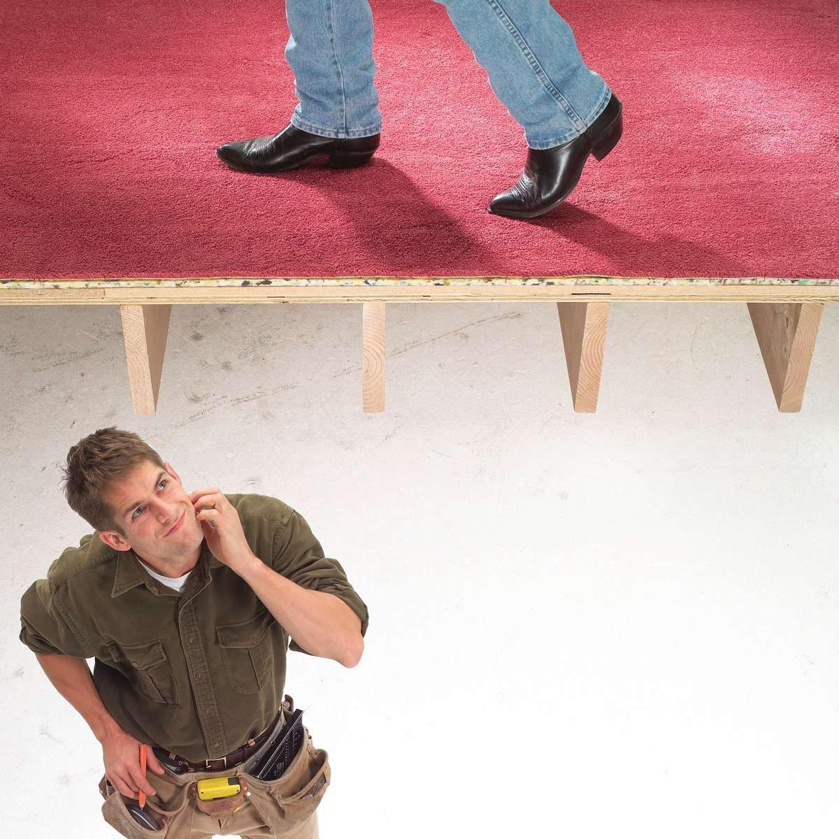 Fix squeaky floors