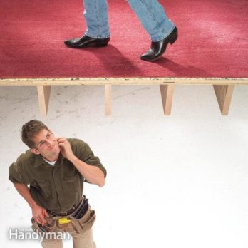 How to Fix Squeaky Floors