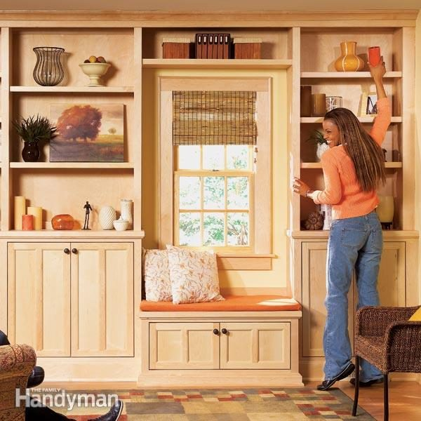 Stylish Shelves | The Family Handyman