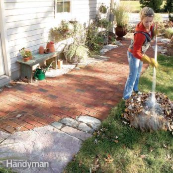 How to Build Pathways: Brick and Stone Pathways