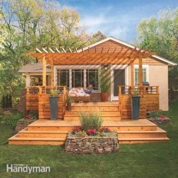 Backyard Deck Plans deck designs | the family handyman