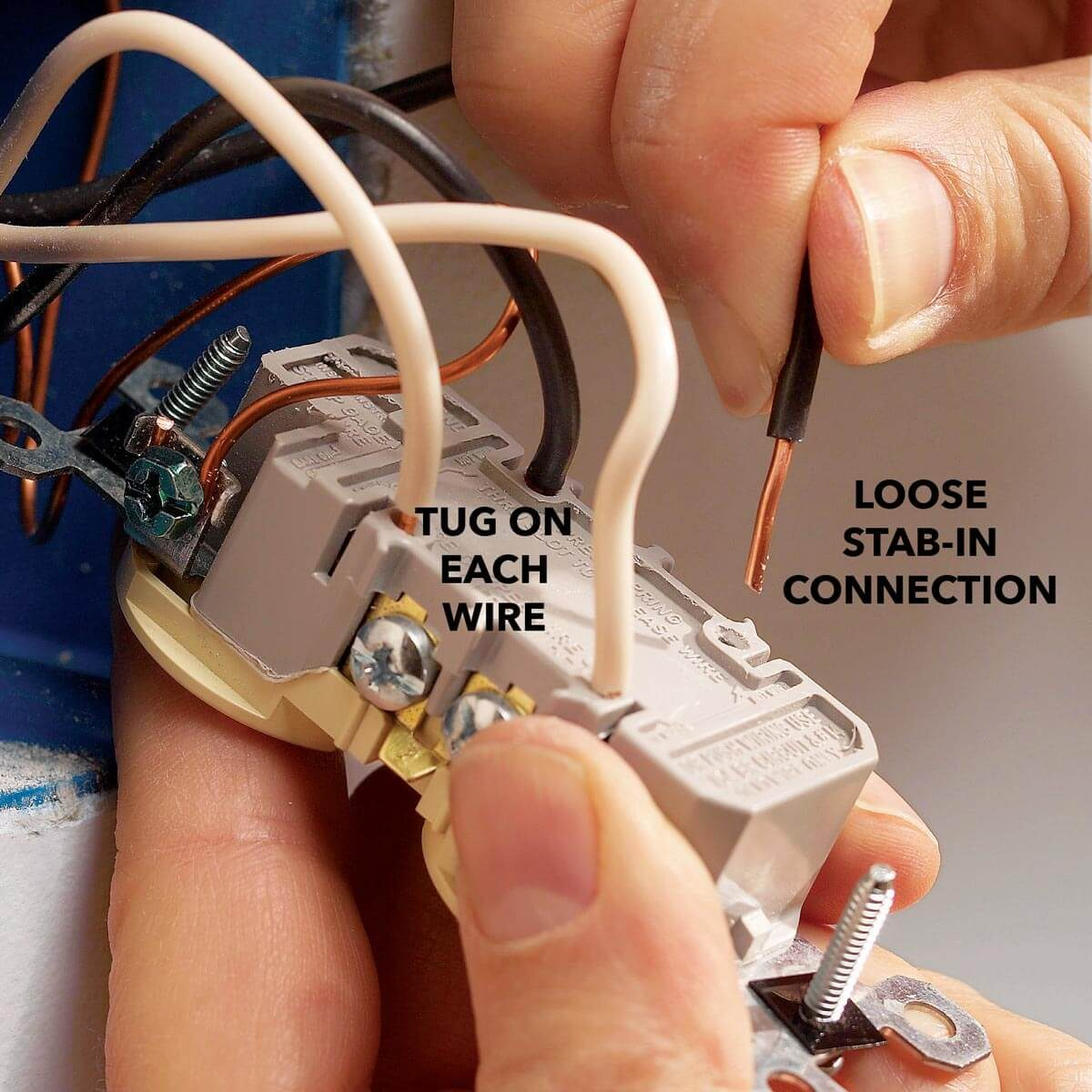 Troubleshooting Dead Outlets And What To Do When Gfci Wont Reset Electric Outlet Wiring An