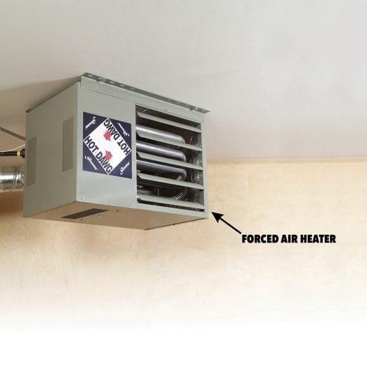 How To Heat A Garage Diy Family Handyman