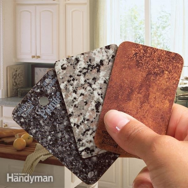 How To Select Laminate Countertops The Family Handyman