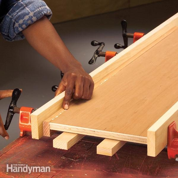 How To Install Edging For Plywood The Family Handyman