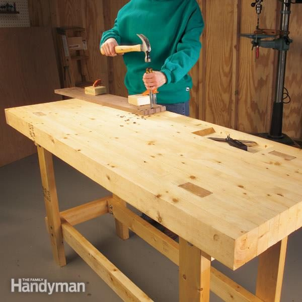 Build a Work Bench On a Budget | The Family Handyman