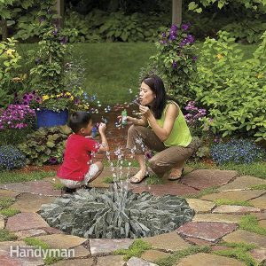 How to Build a Stone Fountain