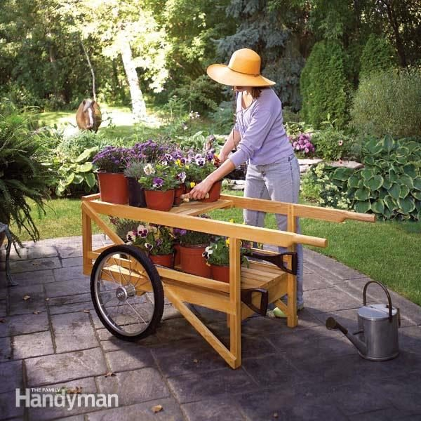 Construct A Classic Wooden Cart The Family Handyman