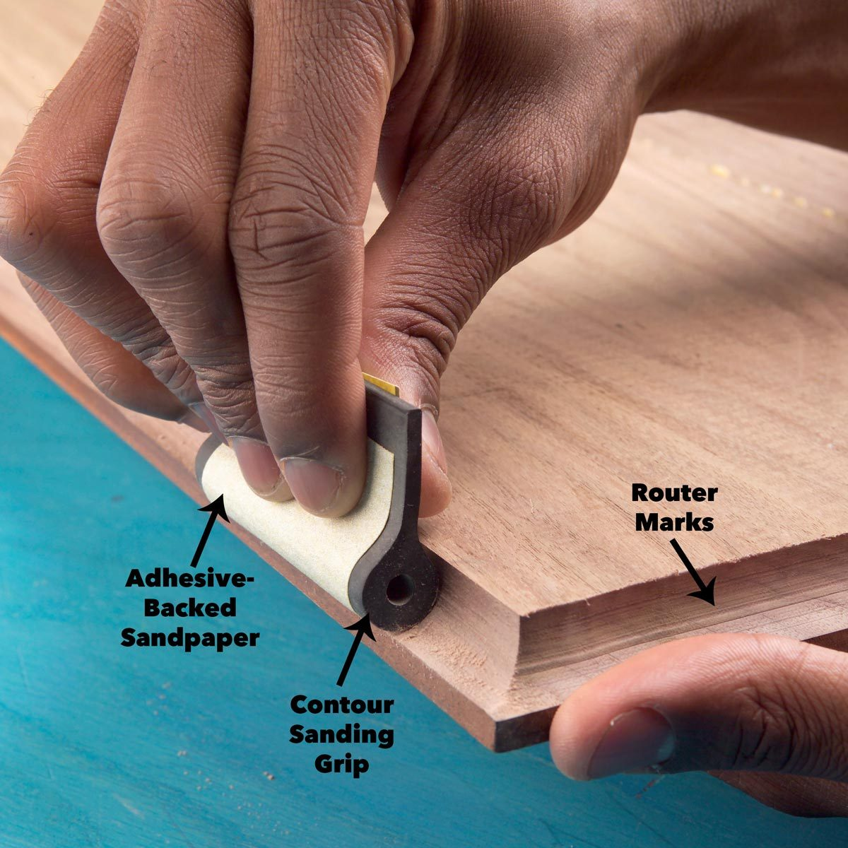 sanding tips save finger tips