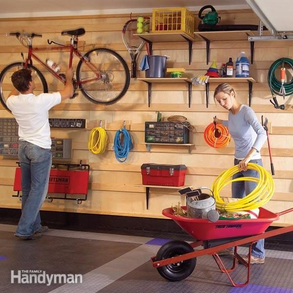 Garage Storage Systems The Family Handyman