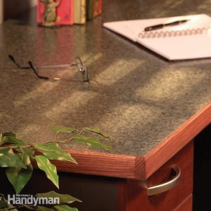 Make a Plastic Laminate Table Top