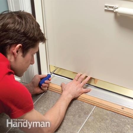 How To Make Your House Warmer By Adjusting The Storm Door