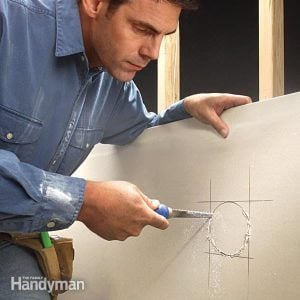 How to Cut Drywall for an Opening