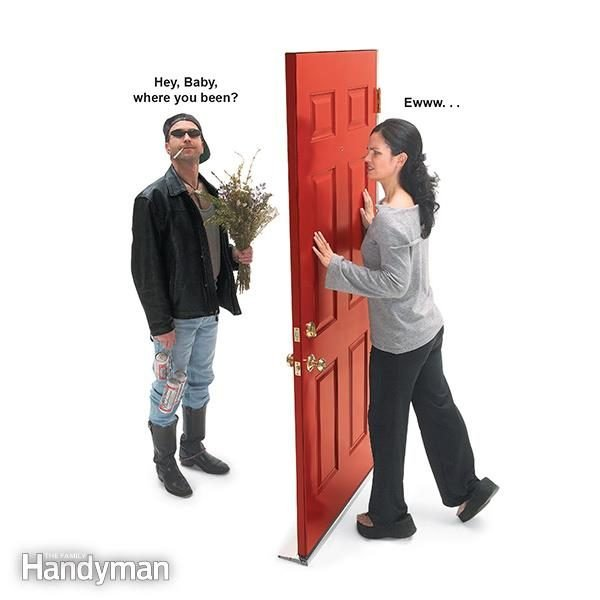 G better home security in 15 minutes or less by installing a door peephole.  sc 1 st  The Family Handyman & How to Install a Peephole in a Door u2014 The Family Handyman