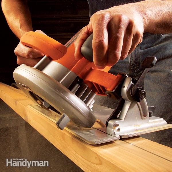 Making Circular Saw Cuts The Family Handyman