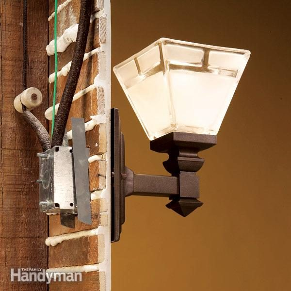 how to connect old wiring to a new light fixture the family handyman rh familyhandyman com Light Fixture Wiring Colors Wiring Two Light Fixtures