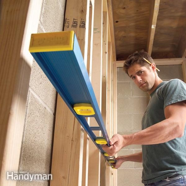 How To Straighten Bowed Stud Walls Family Handyman