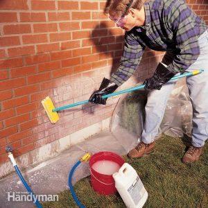 How to Handle Efflorescence on Brick Chimneys